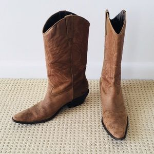 Distressed Cowboy 🤠 Boots 👢